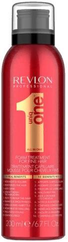 Revlon UniqOne Пена для тонких волос Foam Treatment Fine Hair