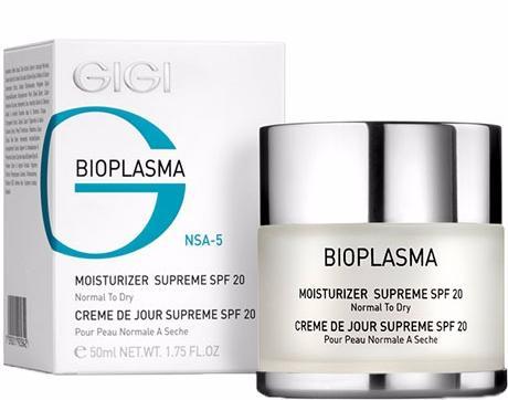 GIGI Bioplasma Крем увлажняющий для нормальной и сухой кожи с SPF 20