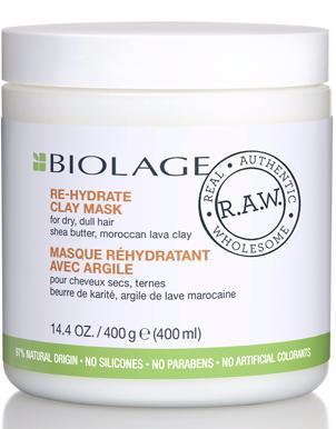 Matrix Biolage RAW RE-HYDRATE Детокс-маска увлажняющая с маслом ши