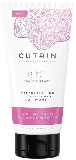 Cutrin Bio+ Strengthening Кондиционер-бустер для укрепления волос у женщин