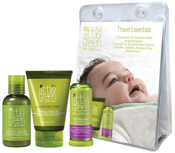 Little Green Baby Набор Первый уход малыша для детей от 0 до 12 мес