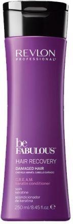 Revlon Be Fabulous Восстановление волос C.R.E.A.M. Очищающий кондиционер с кератином