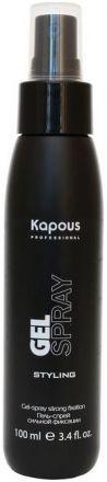Kapous Professional Гель-спрей для волос сильной фиксации