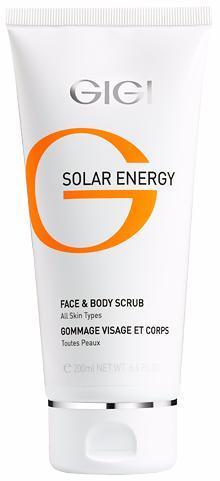 GIGI Solar Energy Скраб для лица и тела