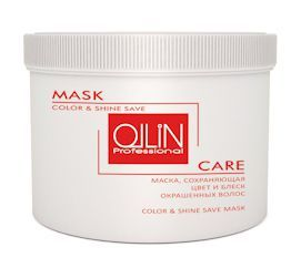 Маска сохраняющая цвет и блеск окрашенных волос Ollin Care