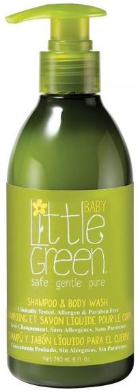 Little Green Baby Шампунь и гель для тела Без слёз