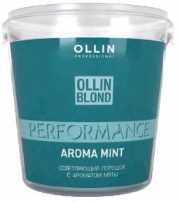 Ollin Performance Осветляющий порошок с ароматом мяты