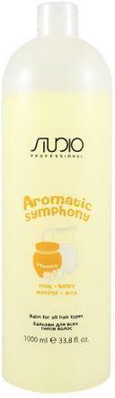 Kapous Studio Care Бальзам для всех типов волос Молоко и мёд Aromatic Symphony