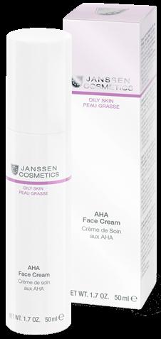 Janssen Oily skin Лёгкий активный крем с фруктовыми кислотами AHA Face Cream