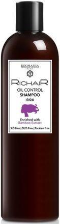 Egomania Richair Шампунь для контроля жирности кожи головы с экстрактом бамбука