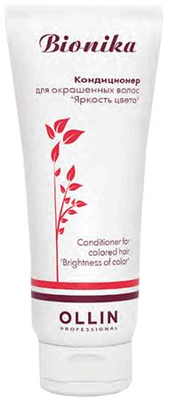 Ollin BioNika Кондиционер для окрашенных волос Яркость цвета