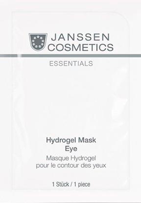 Janssen Укрепляющие патчи для кожи вокруг глаз Hydrogel Mask Eye