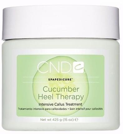 CND SPA Морской педикюр Крем для лечения трещин и ухода за ногами Cucumber Heel Therapy
