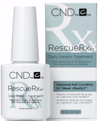 CND Кератиновая маска для ногтей RescueRXx