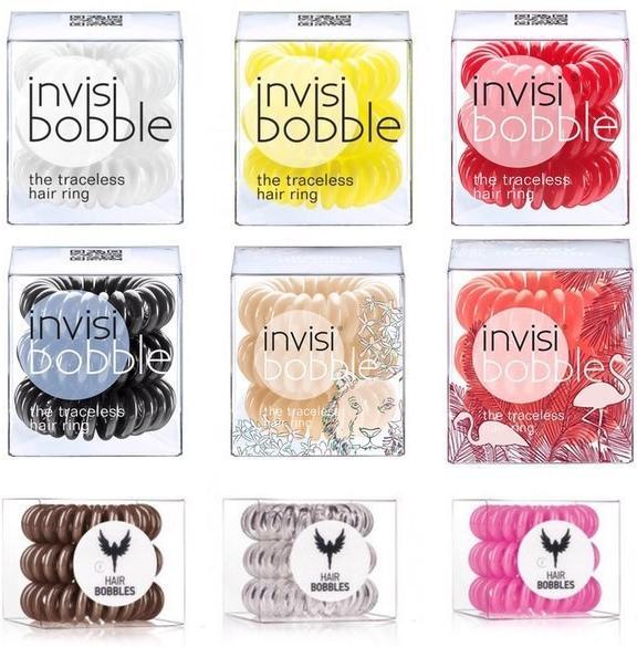 Invisibobble Уникальная резинка для волос разных цветов