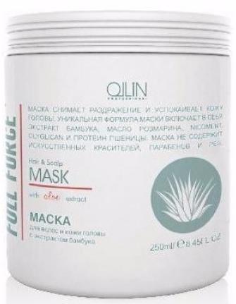 Ollin Full Force Увлажняющая маска с экстрактом алоэ