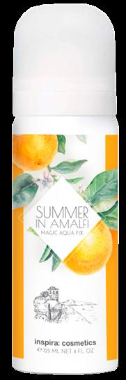 Inspira Summer in Amalfi Освежающий спрей для лица и тела Magic Aqua Fix
