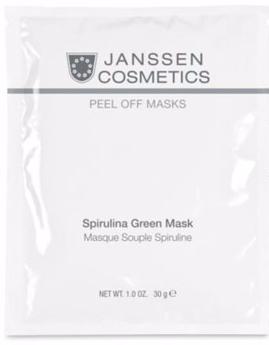 Janssen Зеленая моделирующая маска со спирулиной Spirulina Green Mask