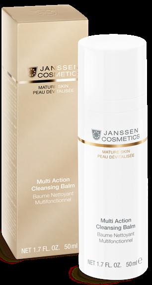 Janssen Mature Skin Мультифункциональный бальзам для очищения кожи Multi Action Cleansing Balm