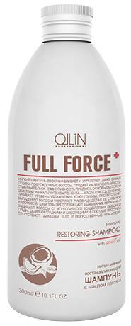 Ollin Full Force Интенсивный восстанавливающий шампунь с маслом кокоса