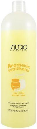 Kapous Studio Care Шампунь для всех типов волос Молоко и мёд Aromatic Symphony