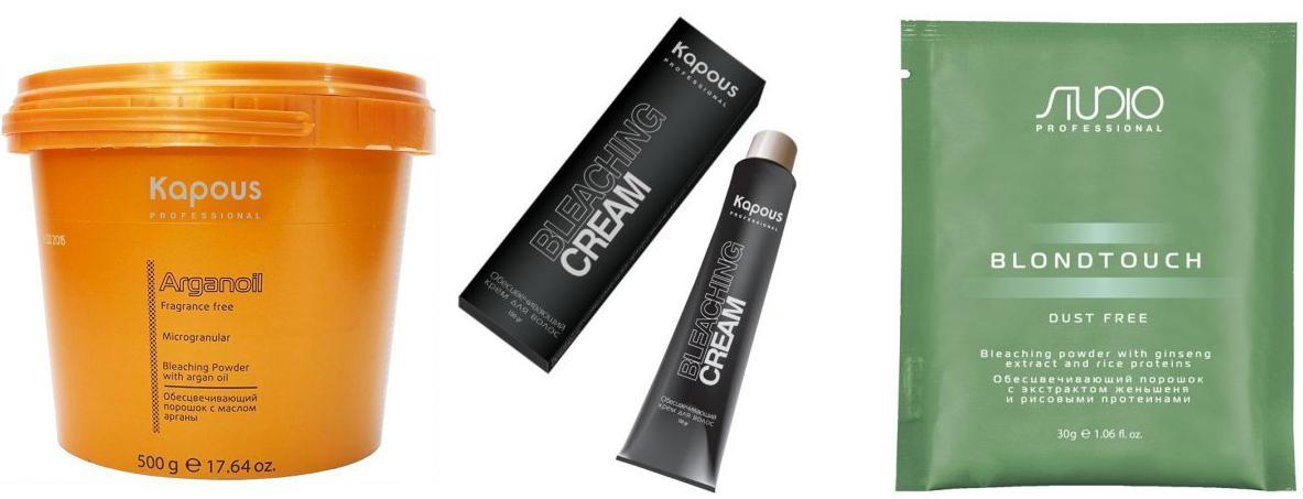 Kapous Professional Всё для окрашивания Осветление волос