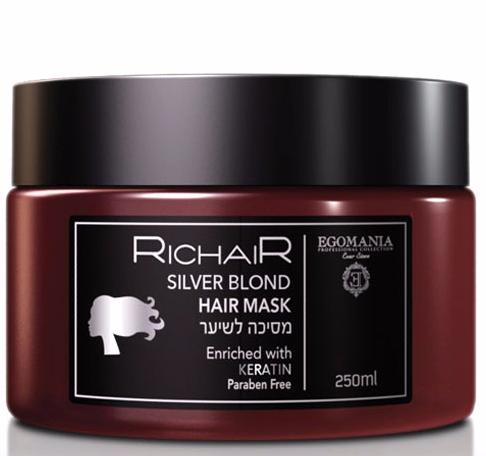 Egomania Richair Маска для блондированных и осветленных волос с кератином