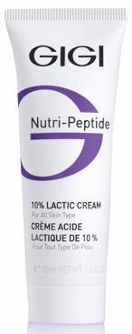 GIGI Nutri Peptide Крем пептидный с 10% молочной кислотой