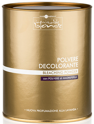 Hair Company INIMITABLE Blonde Обесцвечивающий порошок Bleaching Powder 09 Power