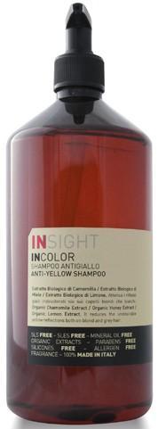 Insight Anti-Yellow Шампунь для нейтрализации жёлтого оттенка волос