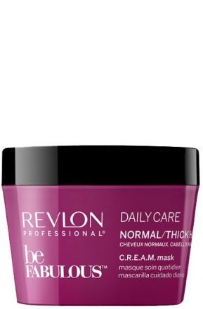 Revlon Be Fabulous Маска C.R.E.A.M. Ежедневный уход для нормальных и густых волос