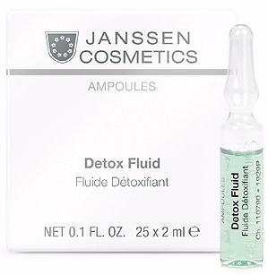 Janssen Детокс-сыворотка в ампулах Detox Fluid