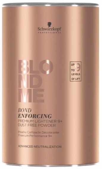 Schwarzkopf Blondme Осветляющая пудра для волос Premium Lightener 9+