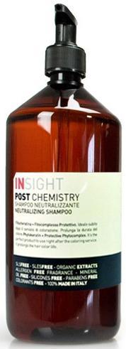 Insight Post Chemistry Нейтрализирующий шампунь с фитокератином