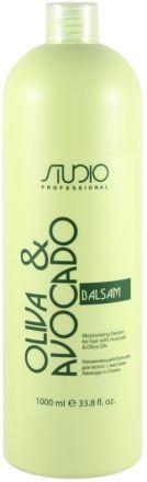 Kapous Olive and Avocado Бальзам увлажняющий для волос с маслами авокадо и оливы