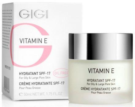 GIGI Vitamin E Крем увлажняющий для жирной кожи