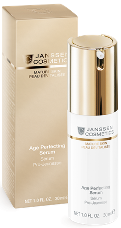 Janssen Mature Skin Anti-age разглаживающая и укрепляющая сыворотка Age Perfecting Serum