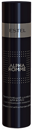 Estel Alpha Homme Шампунь для волос тонизирующий с охлаждающим эффектом