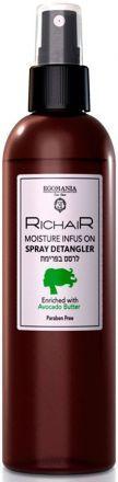 Egomania Richair Спрей для облегчения расчесывания волос и увлажнения с маслом Авокадо