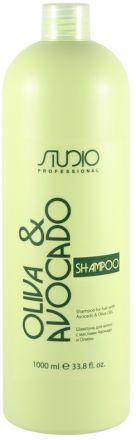 Kapous Olive and Avocado Шампунь увлажняющий для волос с маслами авокадо и оливы