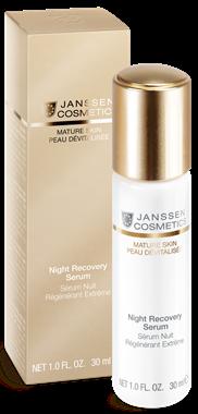 Janssen Mature Skin Anti-age ночная восстанавливающая сыворотка Night Recovery Serum