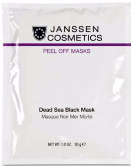 Janssen Альгинатная маска на основе грязи Мёртвого моря Black Dead Sea Mask