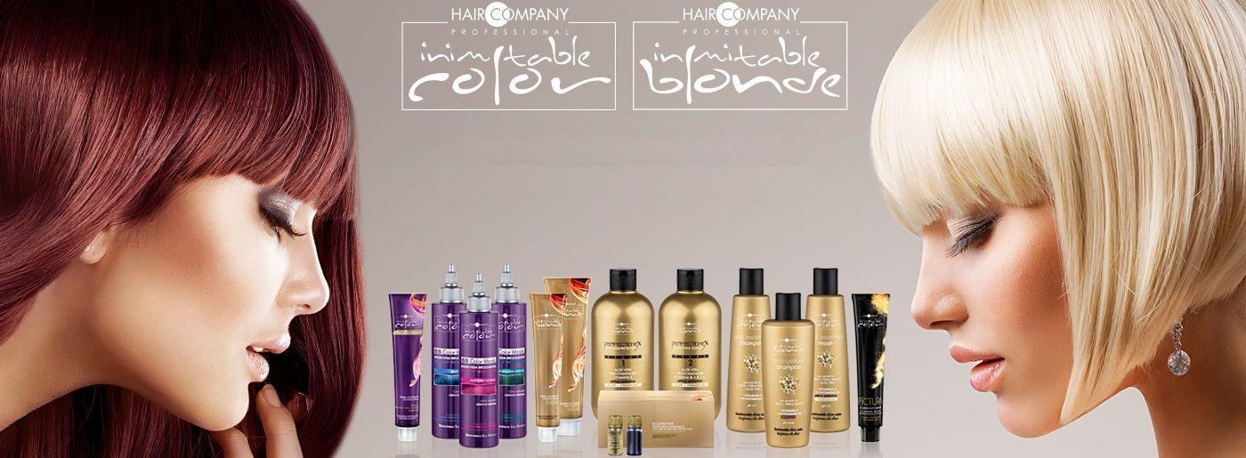 Hair Company Окрашивание волос INIMITABLE