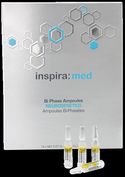 Inspira Med Двухфазная сыворотка для экспресс-восстановления кожи Bi-Phase Ampoules Neurogenetics