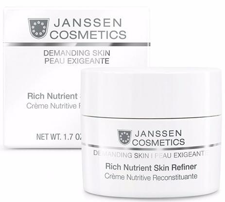 Janssen Demanding Skin Обогащенный дневной питательный крем SPF 15 Rich Nutrient Skin Refiner