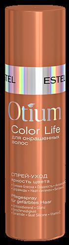 Estel Otium Color Life Спрей-уход для окрашенных волос Яркость цвета