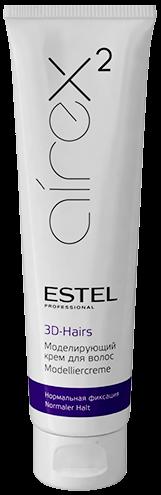 Estel Airex Моделирующий крем для волос 3D-Hairs