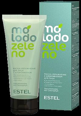 Estel Molodo Zeleno Маска-увлажнение с хлорофиллом для лица