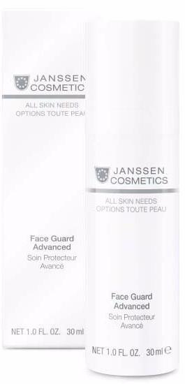 Легкая солнцезащитная основа Face Guard SPF-30 с UVA- UVB- и IR-защитой Janssen