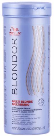 Wella Blondor Блондирующий порошок без образования пыли